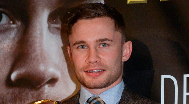 Frampton aches to fight back in Northern Ireland, where he has fought 10 times, but not since 2015. Photo by Oliver McVeigh/Sportsfile