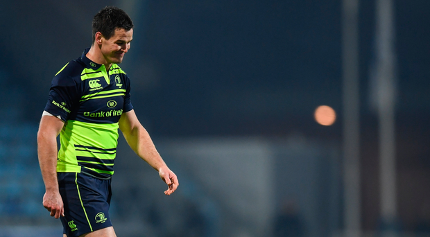 Johnny Sexton's experience was missed in the closing minutes of the game against Castres. Photo: Sportsfile