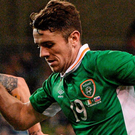 Crystal Palace have surged ahead in the race to sign Robbie Brady. Photo: Sportsfile