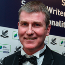 Dundalk manager Stephen Kenny (pictured) will monitor Paddy McCourt's well-being to help decide if he wants to offer him a contract. Photo: Sportsfile