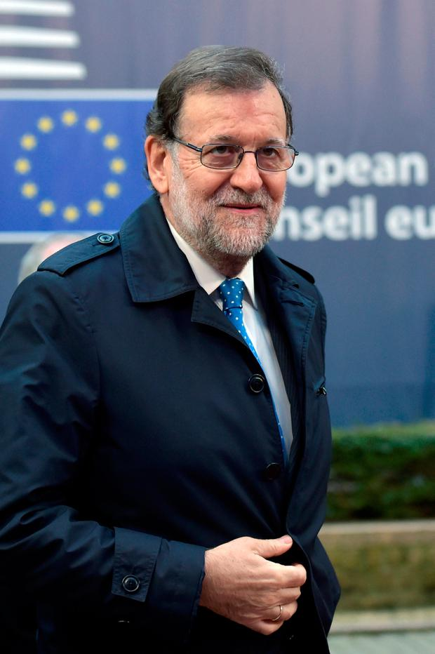 Spanish Prime Minister Mariano Rajoy Picture: REUTERS/Eric Vidal