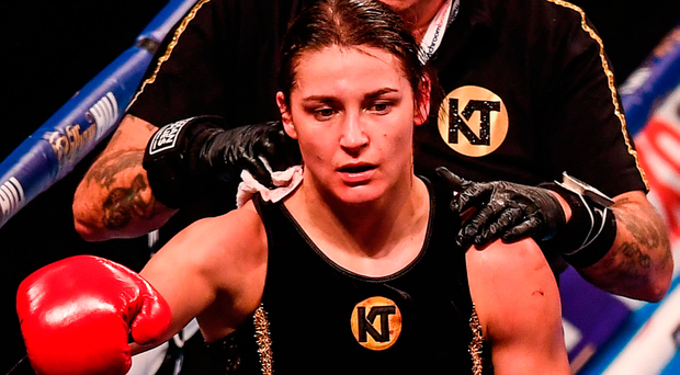Katie Taylor. Photo by Stephen McCarthy/Sportsfile