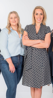 'Wrecked' leader Maireád Redmond (22) with 'Operation Transformation' host Kathryn Thomas; inset left, Dr Ciara Kelly, who said she was shocked Picture: David Cantwell