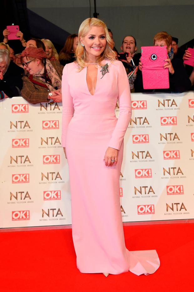 Holly Willoughby attends the National Television Awards on January 25, 2017 in London, United Kingdom. (Photo by Anthony Harvey/Getty Images)