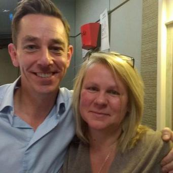 Susan featured on the Ryan Tubridy Show on RTE Radio One.