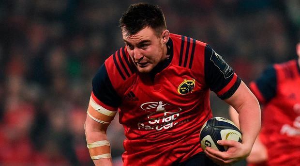 'Niall is a big, physical presence. Nowadays hookers are normally shorter, lower to the ground, and mobile guys. But he is a big guy and has great scrummaging ability as well as the big carries, he puts in across the park.' Photo by Diarmuid Greene/Sportsfile