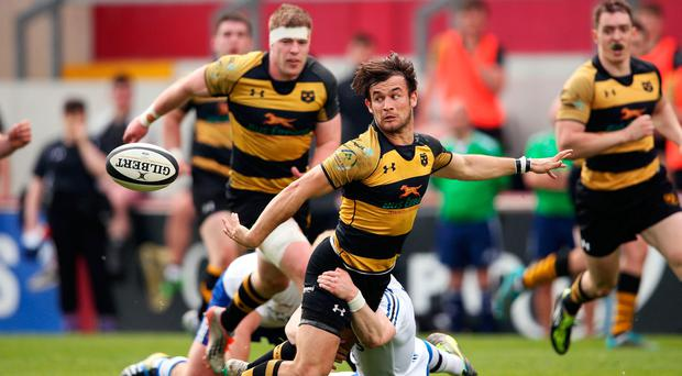 Young Munster and Cork Con will face off in a repeat of last year's Bank of Ireland Munster Senior Cup final. Photo: INPHO/Cathal Noonan