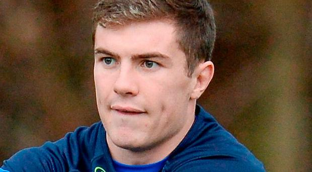 Stuart Lancaster is full of praise for Luke McGrath (pictured). Photo: Sportsfile