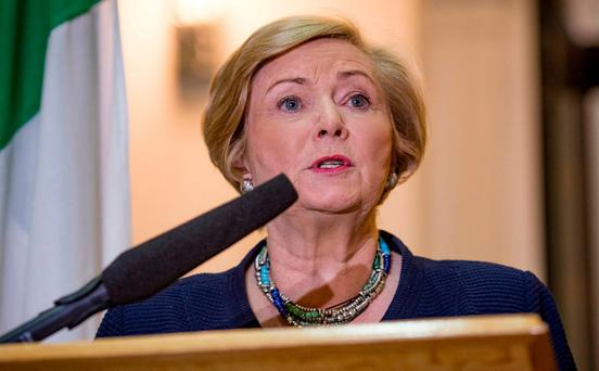 Amid some rancour Tánaiste Frances Fitzgerald appointed an assistant commissioner, three chief superintendents and seven superintendents in November. Photo: Arthur Carron