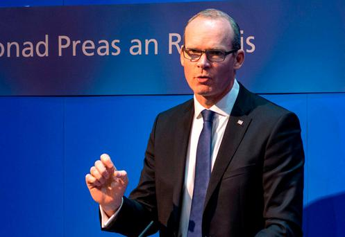 Housing Minister Simon Coveney last night published the list of new rent-pressure zones, which will see the caps come into force immediately. Photo: Doug O'Connor