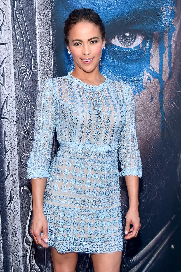 Actress Paula Patton attends the premiere of Universal Pictures'