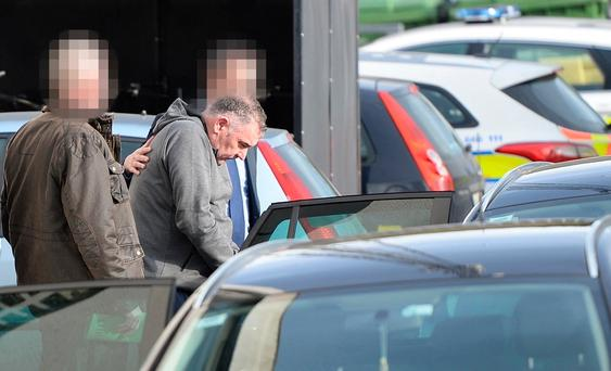 Declan Brady. Arrested in connection with a Kinahan arms seizure.