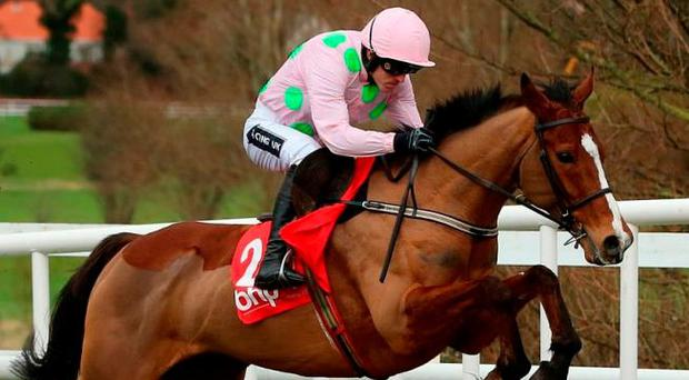 Faugheen and Ruby Walsh return to the scene of their last victory in last year's Irish Champion Hurdle. Photo: Niall Carson/PA Wire