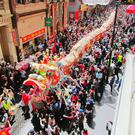 Chinese New Year celebrations.