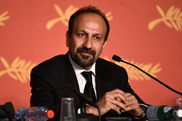 Scriptwriter Asghar Farhadi, winner of the award for Best Script for the movie « The Salesman » , attends the Palme D'Or Winner Press Conference on May 22, 2016 in Cannes, France. (Photo by Ian Gavan/Getty Images)