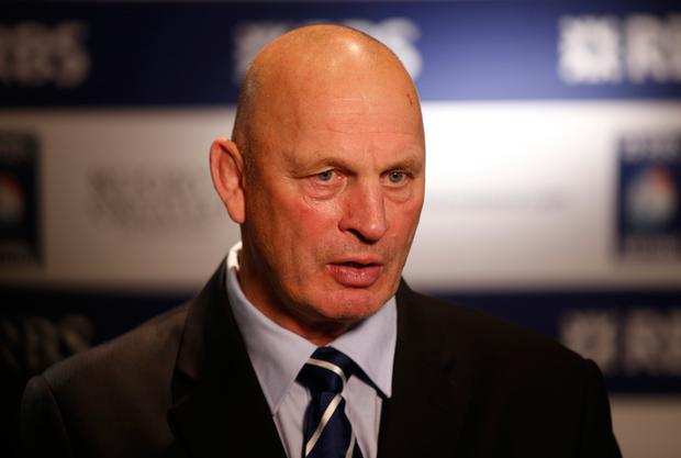 Scotland head coach Vern Cotter. Photo: Reuters