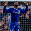 Chelsea's Michy Batshuayi celebrates after scoring his team's fourth goal during the Emirates FA Cup, fourth round match against Brentford. Photo: Scott Heavey/PA