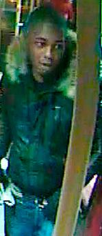 Undated CCTV still issued by the Metropolitan Police of a man wanted for questioning over a series of