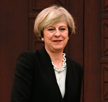 British Prime Minister Theresa May. Photo: Stefan Rousseau/PA Wire