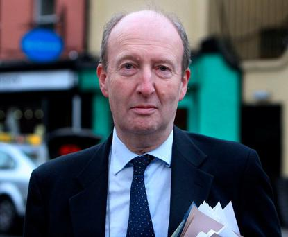 Transport Minister Shane Ross was criticised by union chiefs for weighing in on issues regarding the reopening of the Stepaside garda station and the Judicial Appointments Bill, but meanwhile steering clear of disputes in Bus Éireann. Photo: Tom Burke