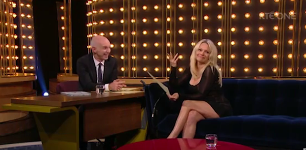 That time Pamela Anderson appeared on The Ray D'Arcy Show