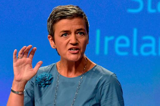 EU's Margrethe Vestager. Photo: REUTERS/Eric Vidal
