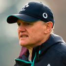 Joe Schmidt has the benefit of having all his playing aces at his dispoal for this Saturday's Six Nations opener against Scotland Photo: Matt Browne/Sportsfile
