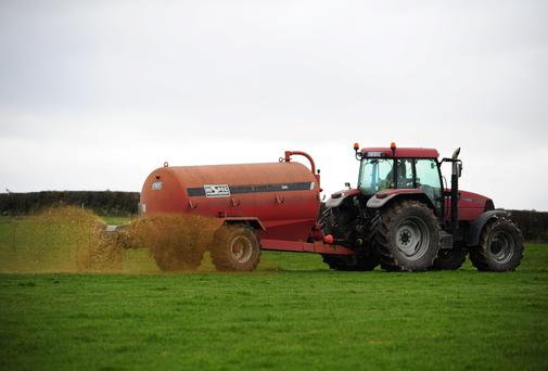 Slurry and fertiliser spreading season is open in Monaghan