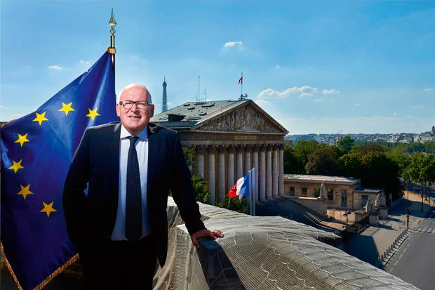 Commission vice-president Frans Timmermans