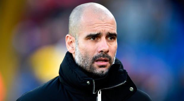 Manchester City manager Pep Guardiola: