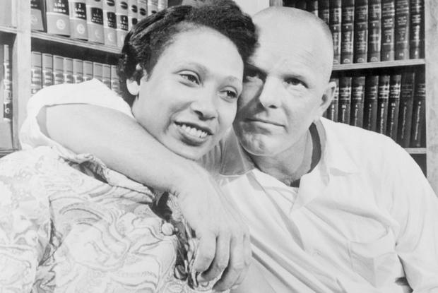 Battling the ban: Mildred and Richard Loving on whom the movie is based