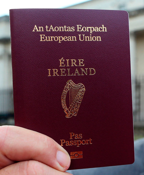 Dual citizens from the seven designated countries will be allowed travel to the US if they have an Irish passport. (Stock picture)