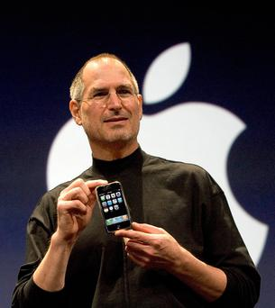 Steve Jobs. Photo: David Paul Morris/Getty Images