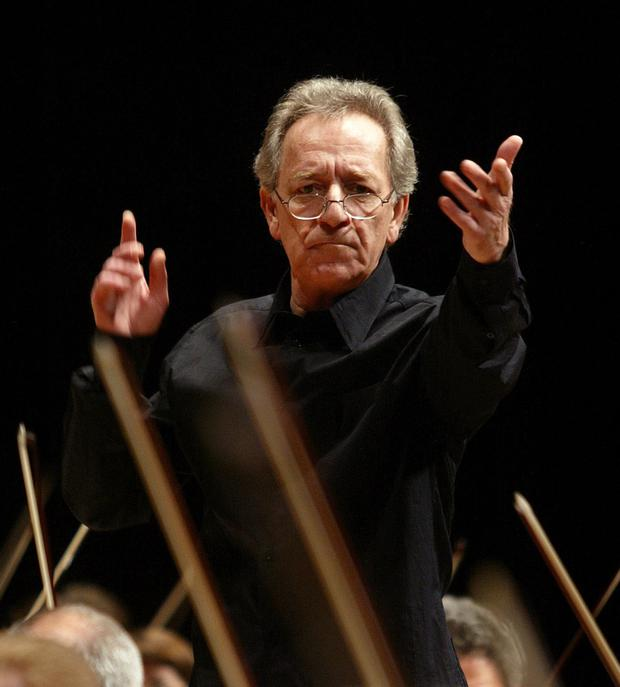 Yuri Temirkanov, conductor of the St. Petersburg Philharmonic Orchestra