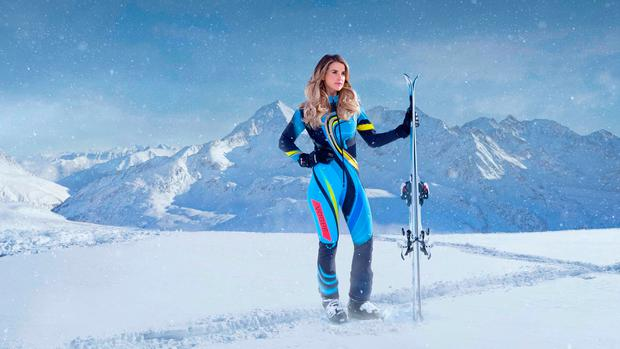 Vogue Williams was one of the contestants in this year's Channel 4 reality sport show, The Jump.