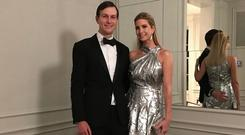 Ivanka Trump and Jared Kushner's 'out of touch' picture on Instagram