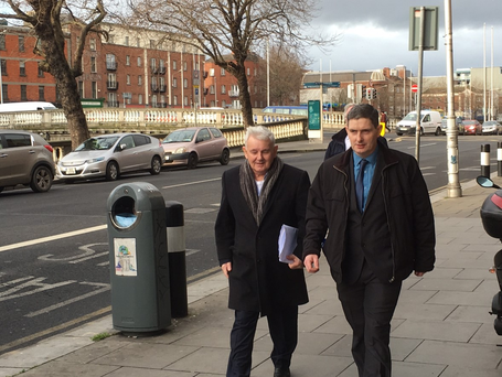 John Gilligan arrives at court to hear if CAB can seize his three properties