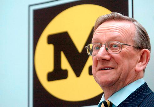 Sir Ken Morrison, the man was instrumental in growing supermarket Morrisons into one of the UK's largest retailers Credit: Ian Nicholson/PA Wire