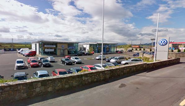 Tim Hastings Garage, Westport, Co Mayo. Picture: Google Maps