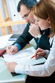 Selling a business requires a company valuation by experienced advisers. Stock image