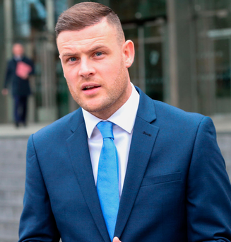 Footballer Anthony Stokes Photo: Collins Courts