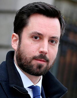 Financial Services Minister Eoghan Murphy Photo: Tom Burke