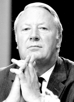 Former British prime minister Edward Heath Photo: PA Wire