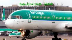 Aer Lingus is set to launch a new service between Dublin and Las Vegas Photo: Reuters/Cathal McNaughton
