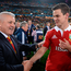 Jonathan Sexton with Warren Gatland in 2013
