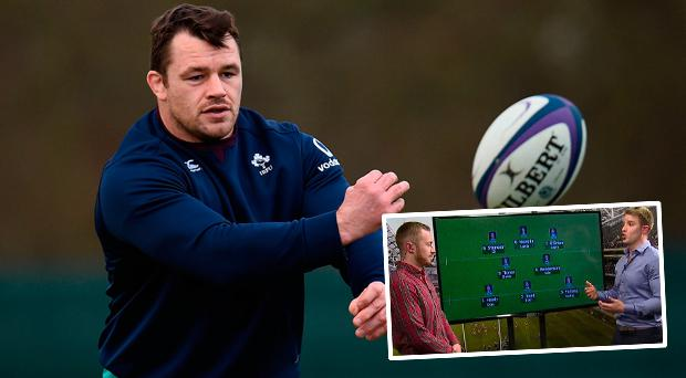 Luke Fitzgerald thinks Cian Healy should start the Six Nations