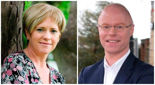 Mary Wilson and Stephen Donnelly