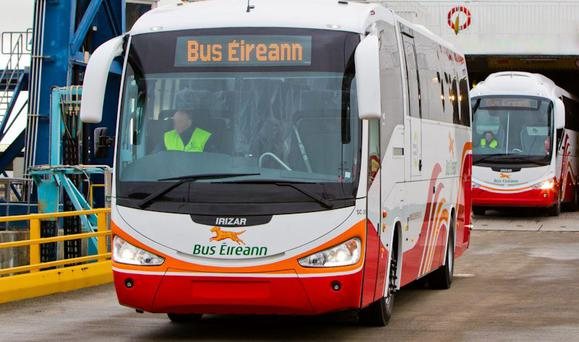 The announcement of the indefinite strike by unions representing Bus Éireann came on the same day the semi-state company celebrated its 30th anniversary yesterday. (Stock picture)