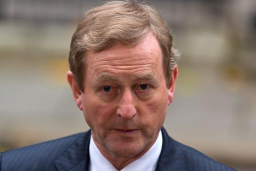 Dr Martin said Mr Trump's recent executive order, affecting immigrants from seven mainly Muslim countries, was the most serious matter for Enda Kenny during his St Patrick's Day visit to the White House. Photo: Ben Pruchnie/Getty Images
