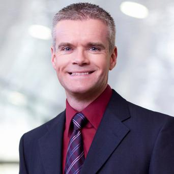 John Healy, Vice President of the Intel Data Centre Group.